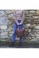 Fab by Danie Suede Paris Jacket in Tan