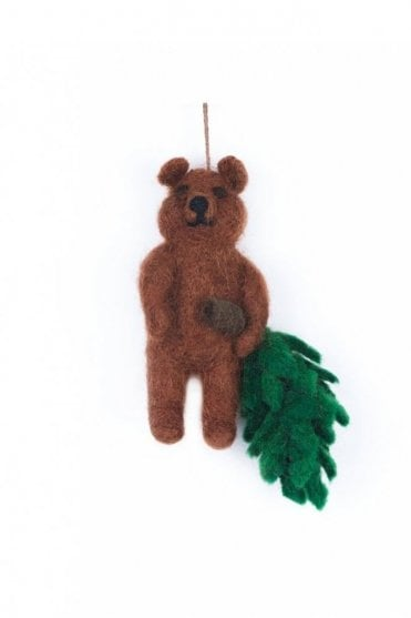 Bear with Christmas Tree