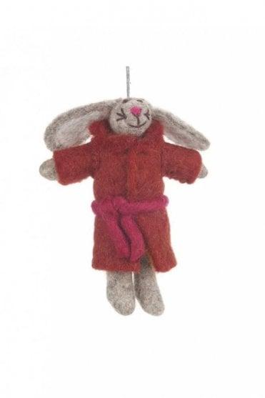Bunny in Robe