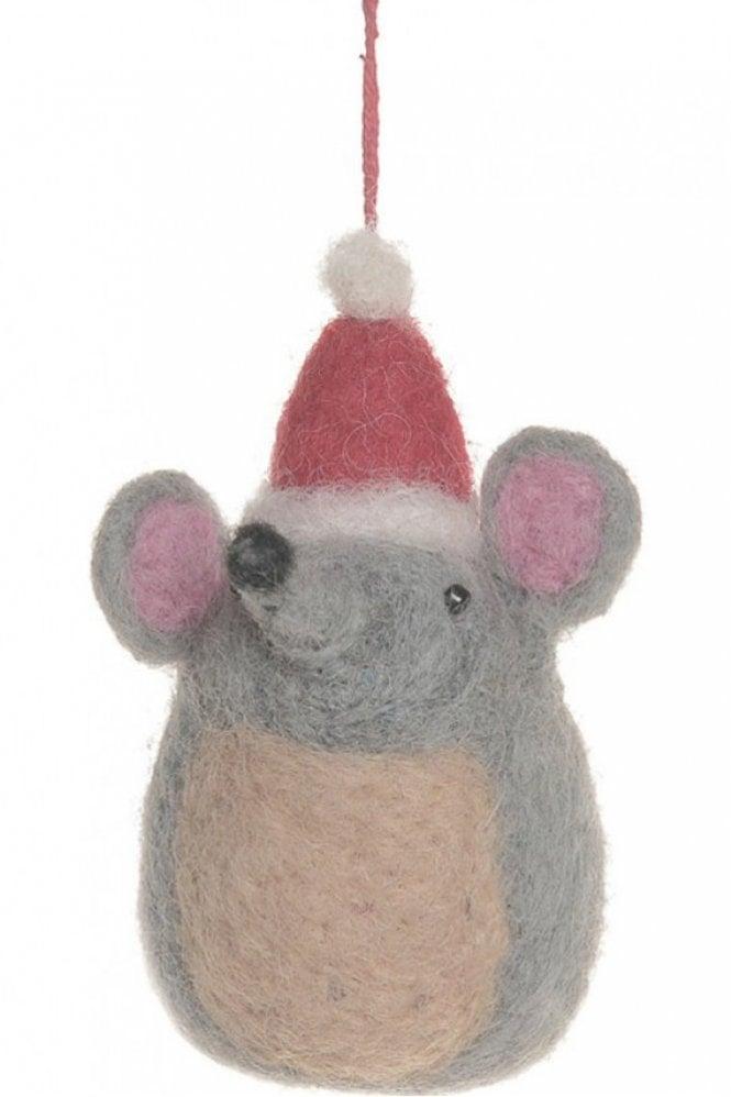 Felt So Good Festive Mouse