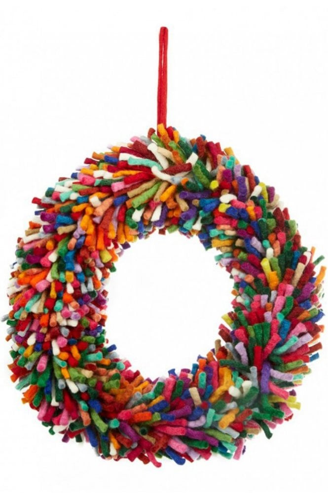 Felt So Good Funk Wreath