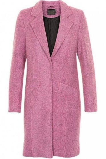 Rosa Coat in Misty Rose