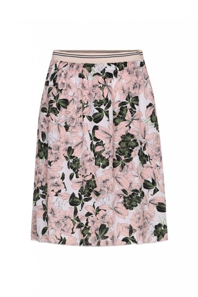 Graumann Ivy Flower Green Skirt