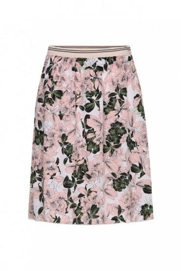 Ivy Flower Green Skirt