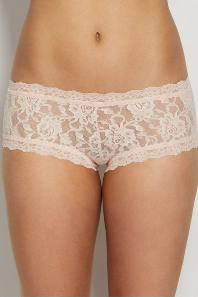 a3f46d7f8 Hanky Panky Signature Lace Boyshort in Vanilla at Sue Parkinson
