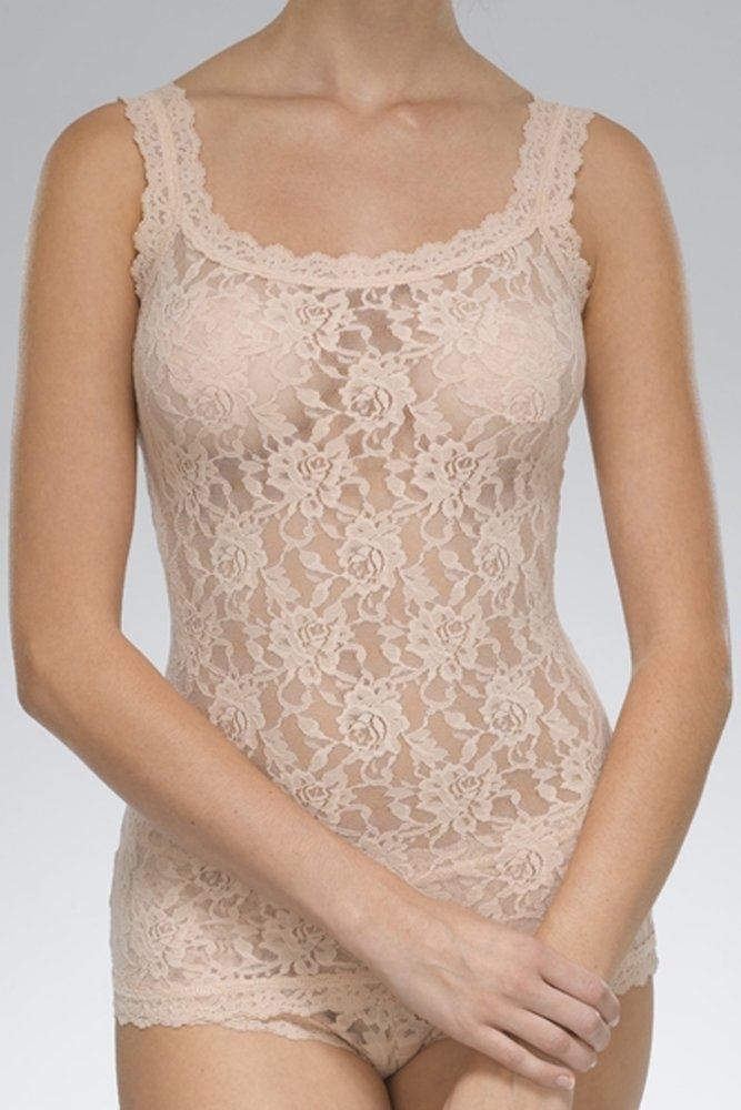 917238ed395 Hanky Panky Signature Lace Unlined Cami in Chai at Sue Parkinson
