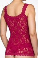 Hanky Panky Signature Lace Classic Camisole in Cranberry