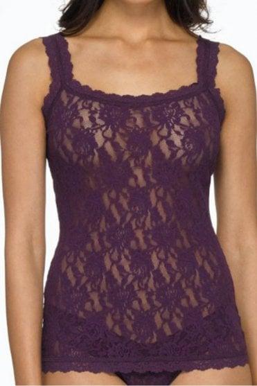 Signature Lace Classic Camisole in Fig