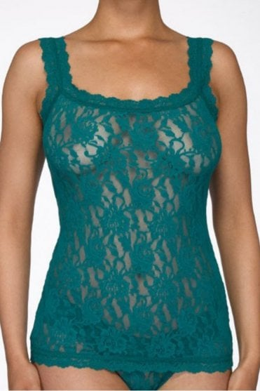 Signature Lace Classic Camisole in Juniper