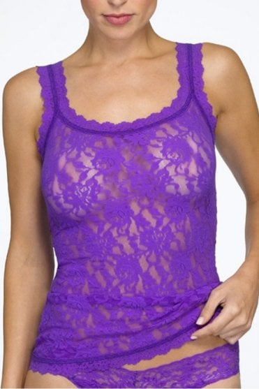 Signature Lace Classic Camisole in Purple Jewel