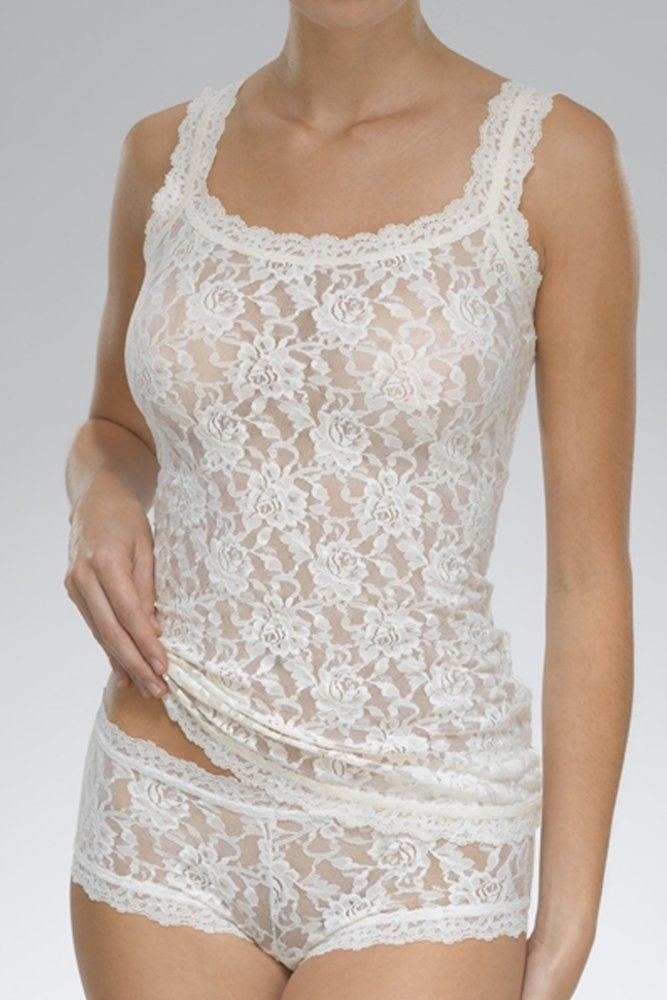 e9eff7f7bda Hanky Panky Signature Lace Unlined Cami in White