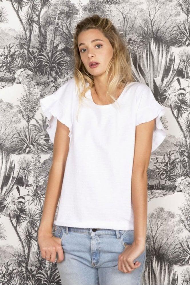 Harris Wilson Céleste Tee-Shirt in White