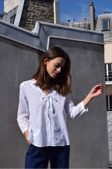 Leandro Blouse in Blanc