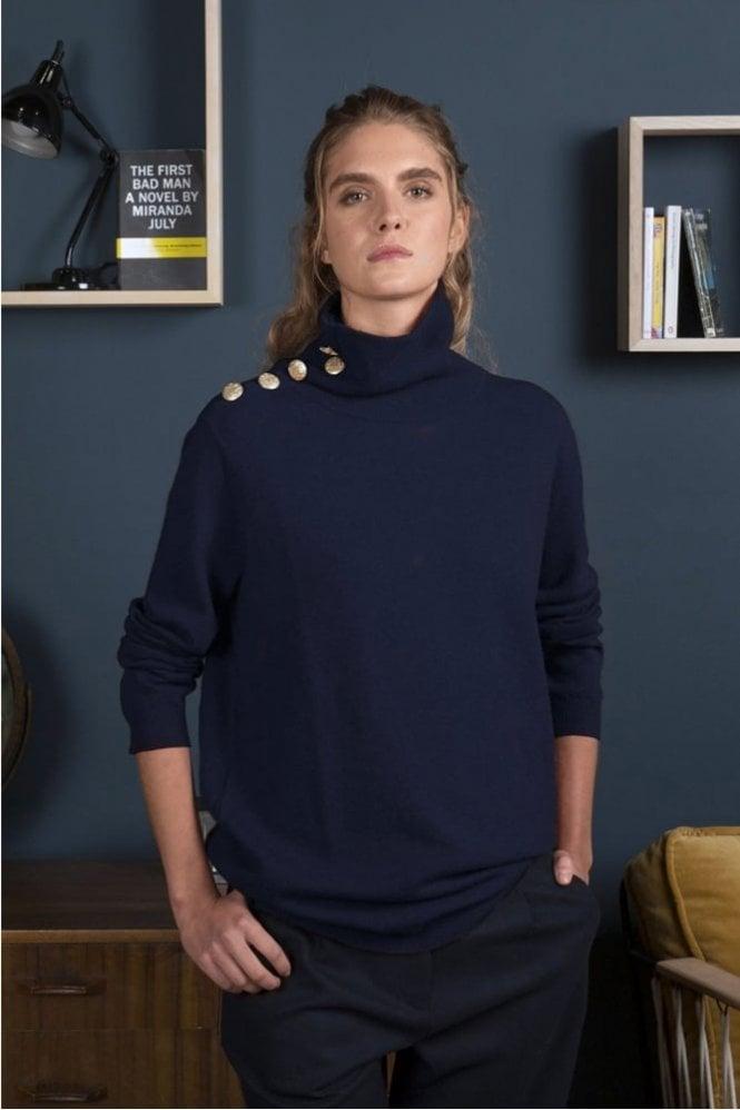 Harris Wilson Malou Sweater in Marine