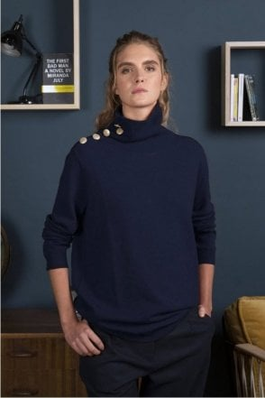 Malou Sweater in Marine