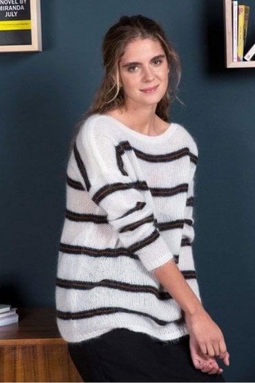 Manou Sweater in Ecru