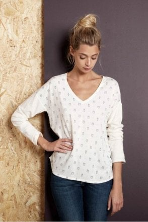 Rivage Owls Printed Top