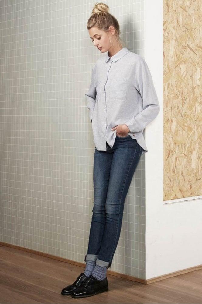 Harris Wilson Verite Pinstripe Shirt