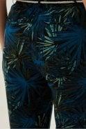 Hartford Blue Palms Printed Patti Pants