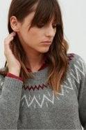 Hartford Macassar Fairisle Sweater
