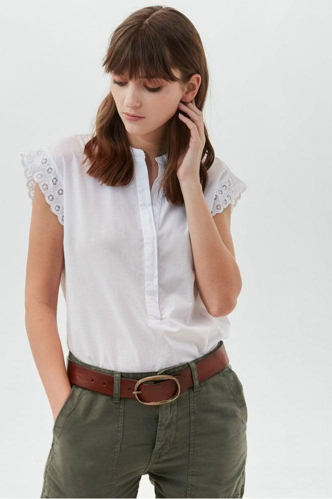 Hartford White Hakuna Cotton Top