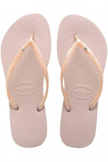 Slim Crystal Glamour SW Flip Flops
