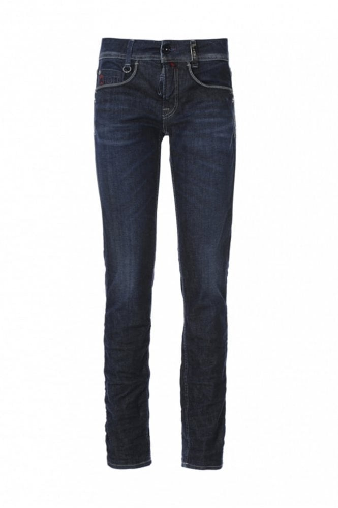 HIGH Ashby Washed Straight Leg stretch Jeans