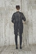 HIGH Bibelot Fil Coupé Bib Front Long Tail Shirt