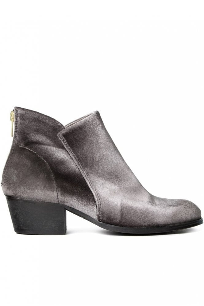 Hudson Apisi Velvet Grey Boot