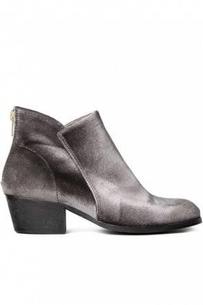 Apisi Velvet Grey Boot