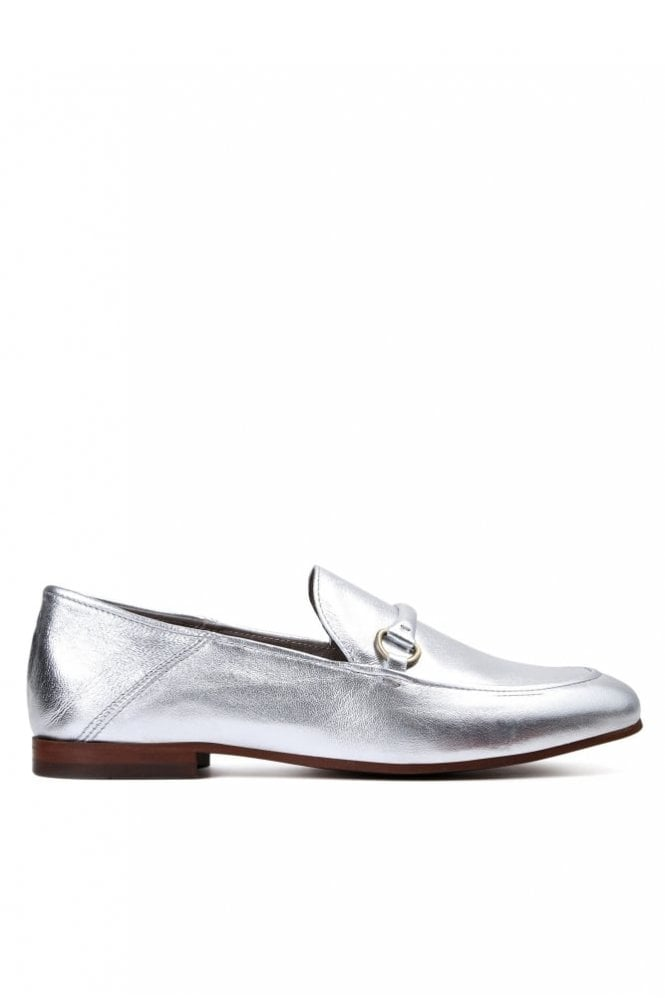 Hudson Arianna Silver Loafer