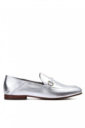 Arianna Silver Loafer