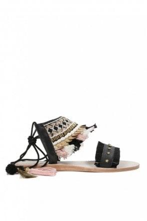 Bahamas Black Sandal