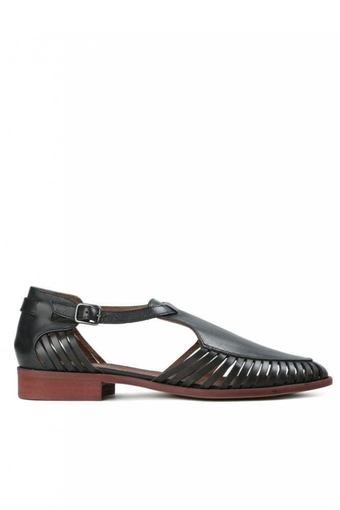 Hudson Belize Black Sandal