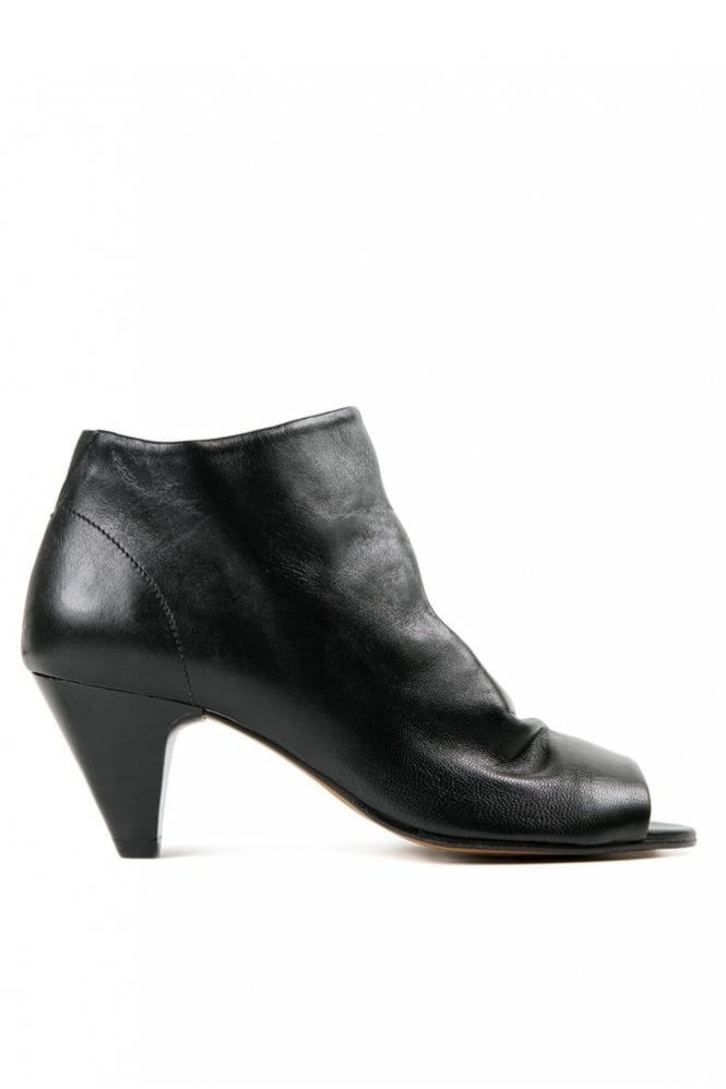 Hudson Goa Suede Black Ankle Boot