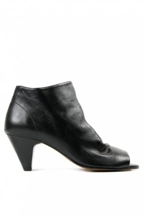 Goa Suede Black Ankle Boot
