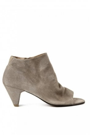 Goa Suede Taupe Ankle Boot
