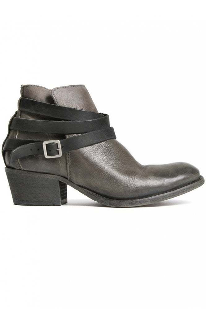 Hudson Horrigan Grey Leather Ankle Boot