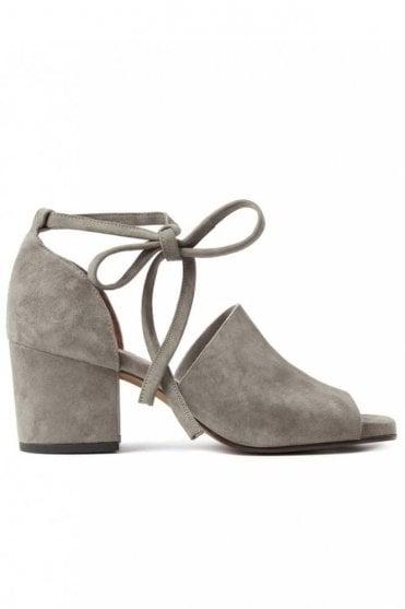 Metta Suede Grey Sandal