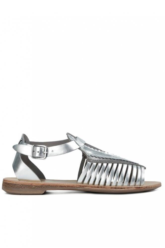 Hudson Pansy Silver Sandal