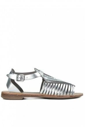 Pansy Silver Sandal