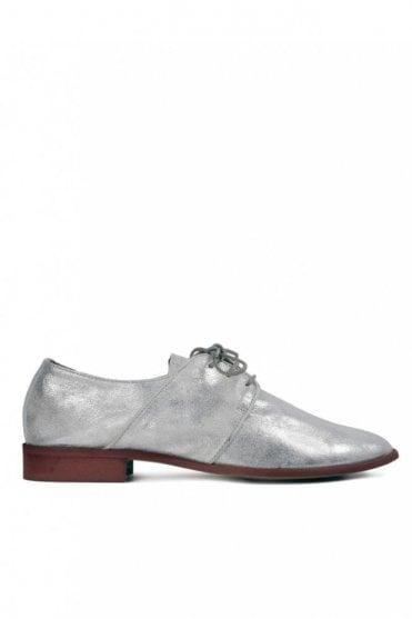 Riviera Suede Silver Shoe
