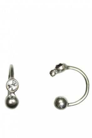 Adjustable Cuff Earring in Silver