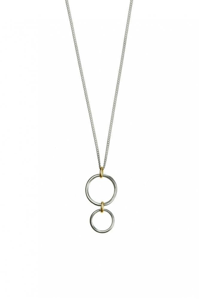 Hultquist Bridle Bit Gold and Silver Necklace