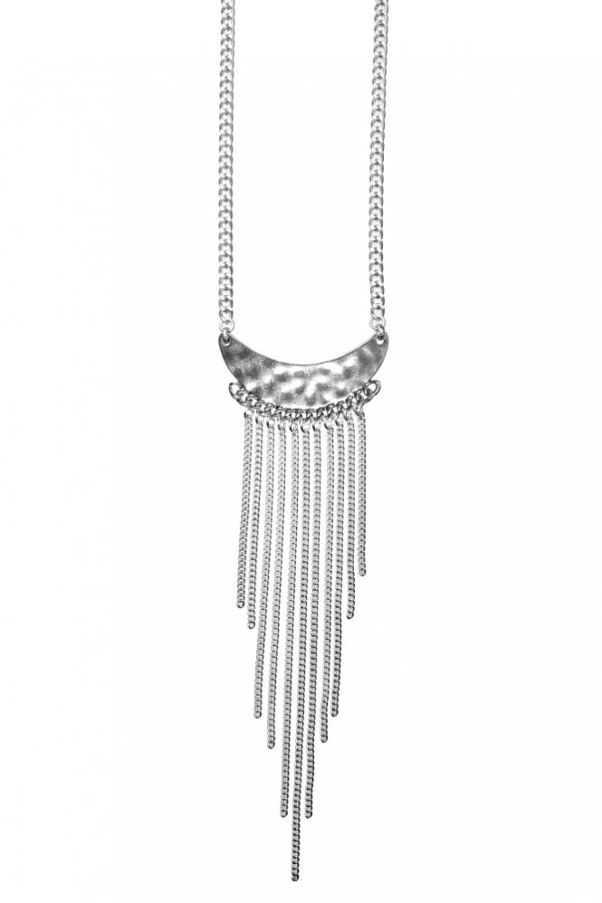 Hultquist Chunky Necklace in Silver
