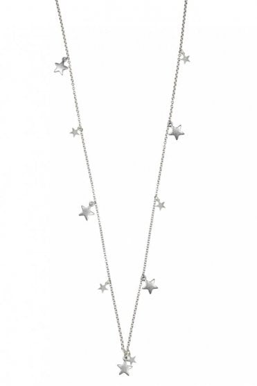 Constellation Silver Star Charm Necklace
