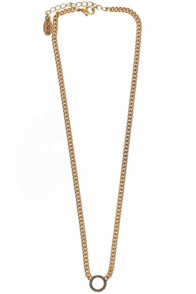 Hultquist Eternity Circle Gold Necklace
