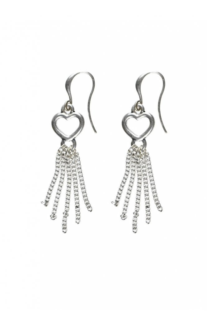 Hultquist Infinity Heart Hook Earrings