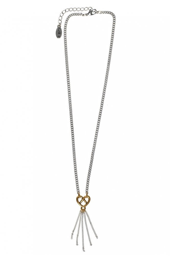 Hultquist Infinity Heart Long Chain Necklace