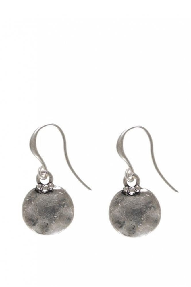 Hultquist Jewellery Classic Style Silver Coin Pendant Earrings